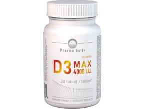 vitamin d3 max 30tbl bila