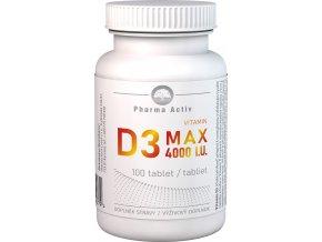 vitamin d3 max 100tbl 4000 bila