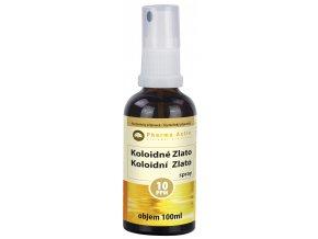 Koloidní zlato 10ppm 100 ml spray