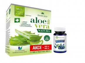Natura 1+1 1000ml + Bilberry 55tablet