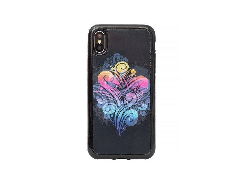 2319 zadni kryt s malovanym motivem pro iphone 7 plus 8 plus barevny kour