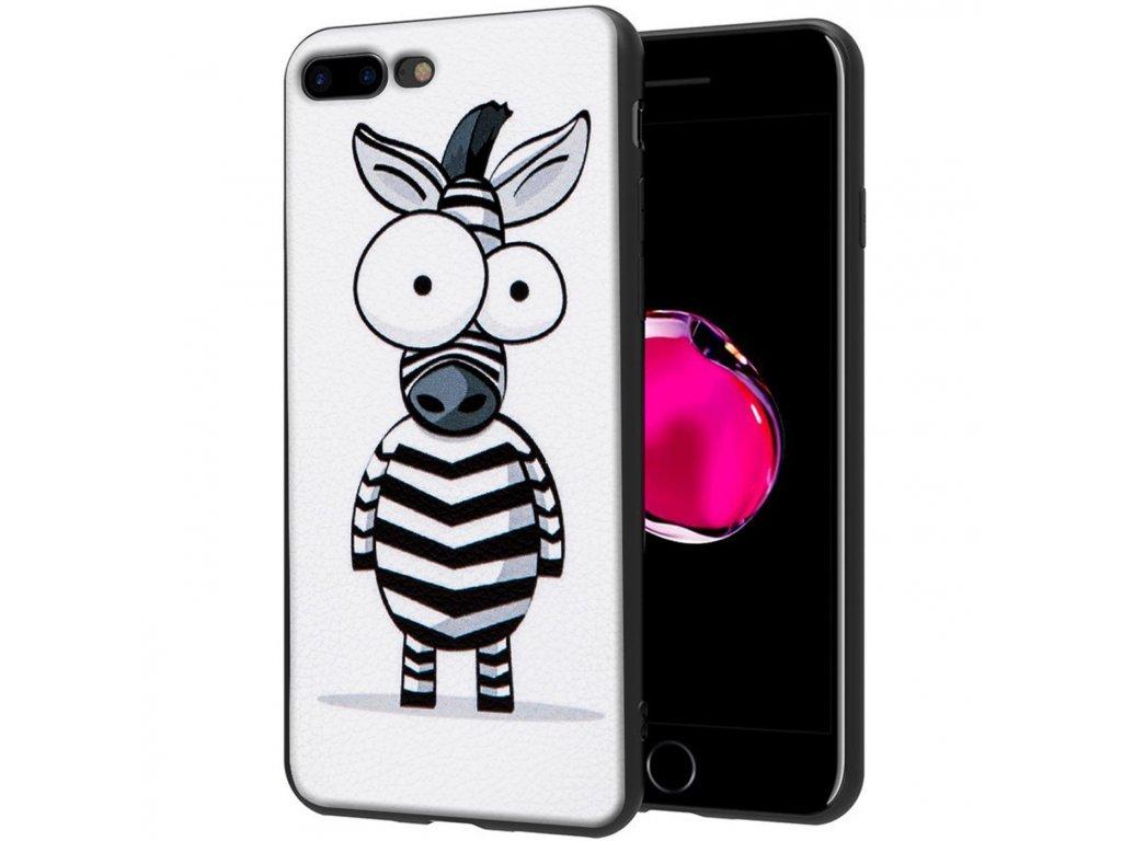 iphone 7 plus zadní kryt hoco zebra