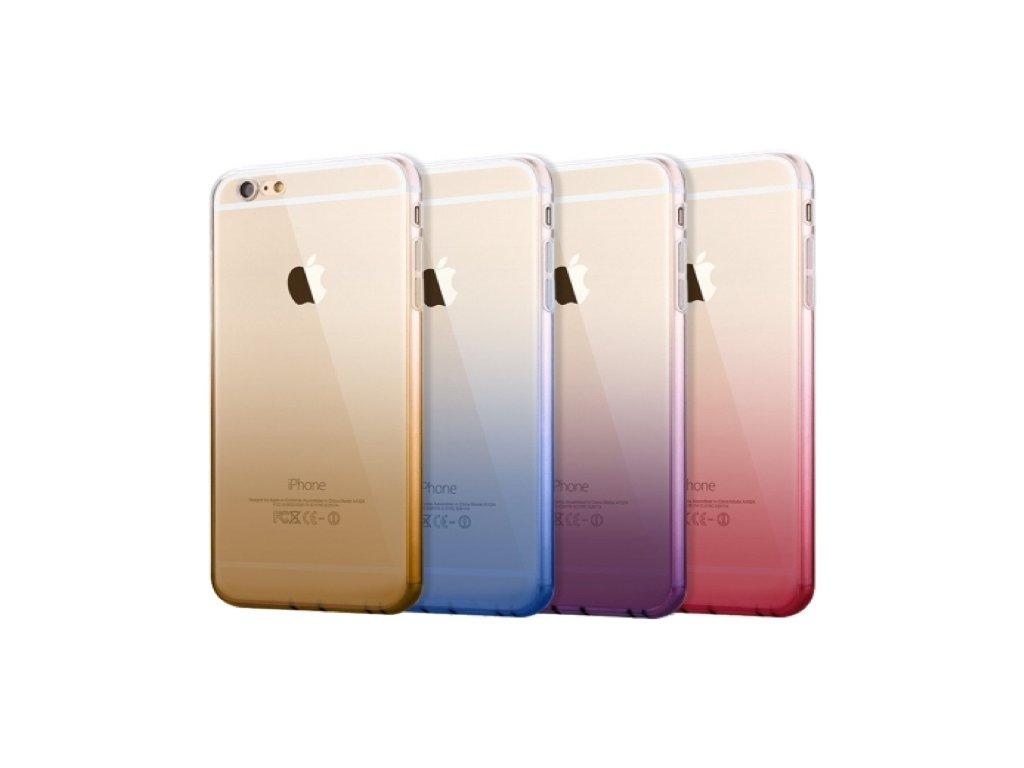 Dvoubarevný zadní kryt pro Samsung Galaxy S6 EDGE (Barva-kryty růžový)
