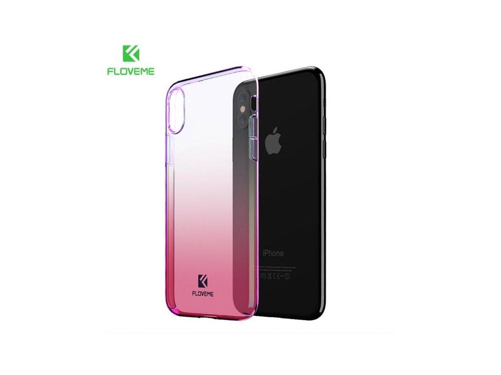 Floveme Kryt pro iPhone X (Růžový)