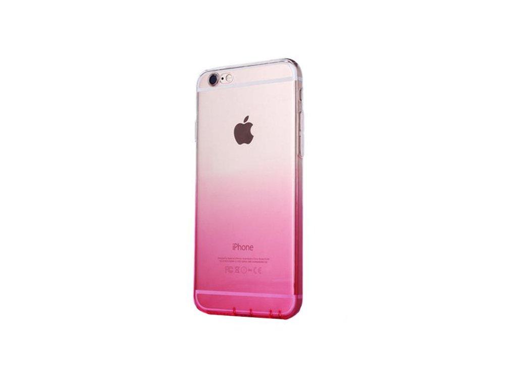 Růžový silikonový kryt na iPhone 6/6s