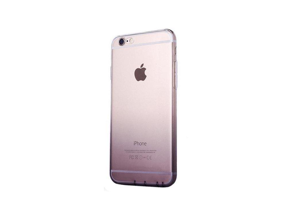 Fialový silikonový kryt na iPhone 6/6s