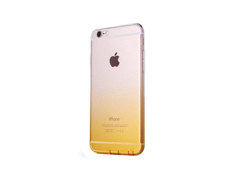 žlutý silikonový kryt na iPhone 6/6s