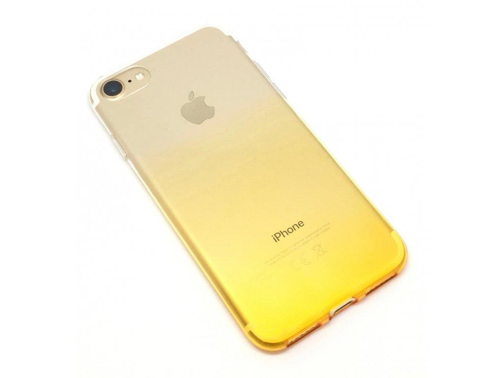 Dvoubarevný zadní kryt pro iPhone 7/8 Žlutý