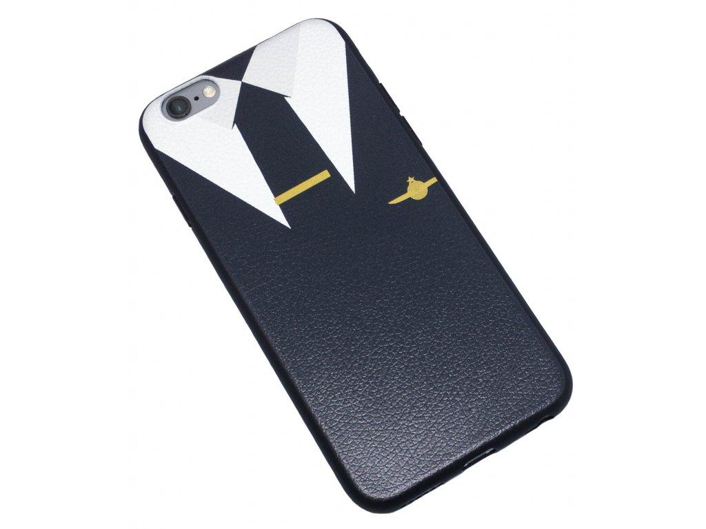 Designový zadní kryt HOCO pro iPhone 6/ 6s Oblek