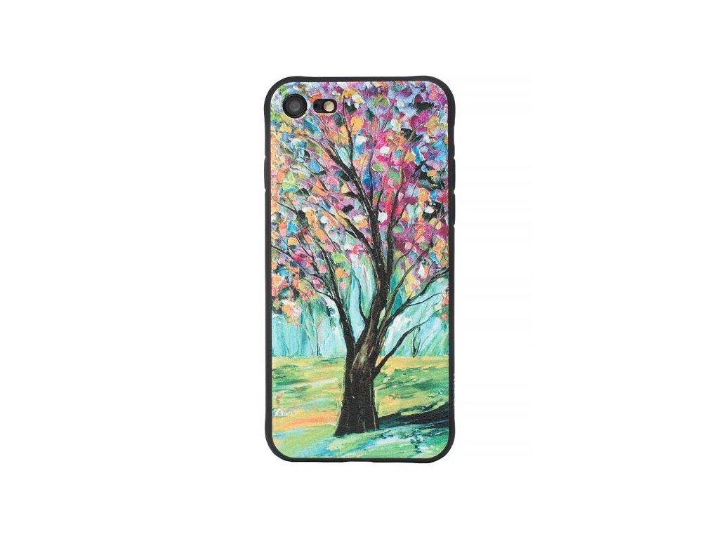Značkový kryt na iPhone 7/8 s kresbou stromu
