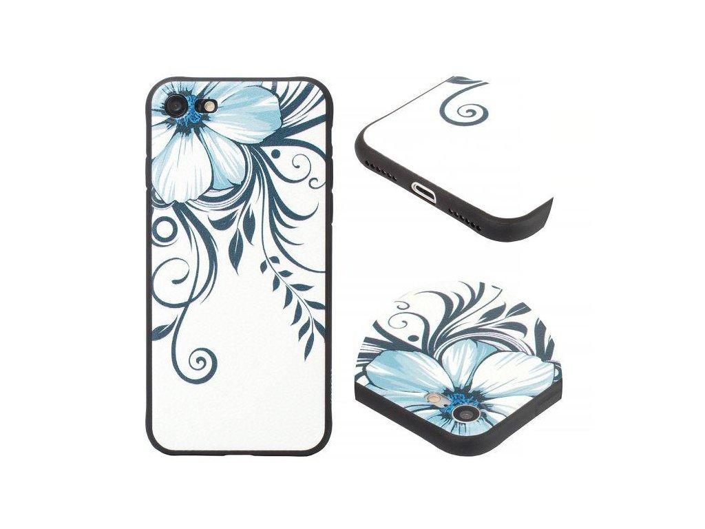 Značkový kryt na iPhone 7/8 - Květina