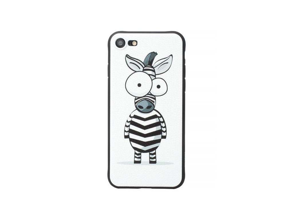Značkový kryt na iPhone 7/8 se zebrou