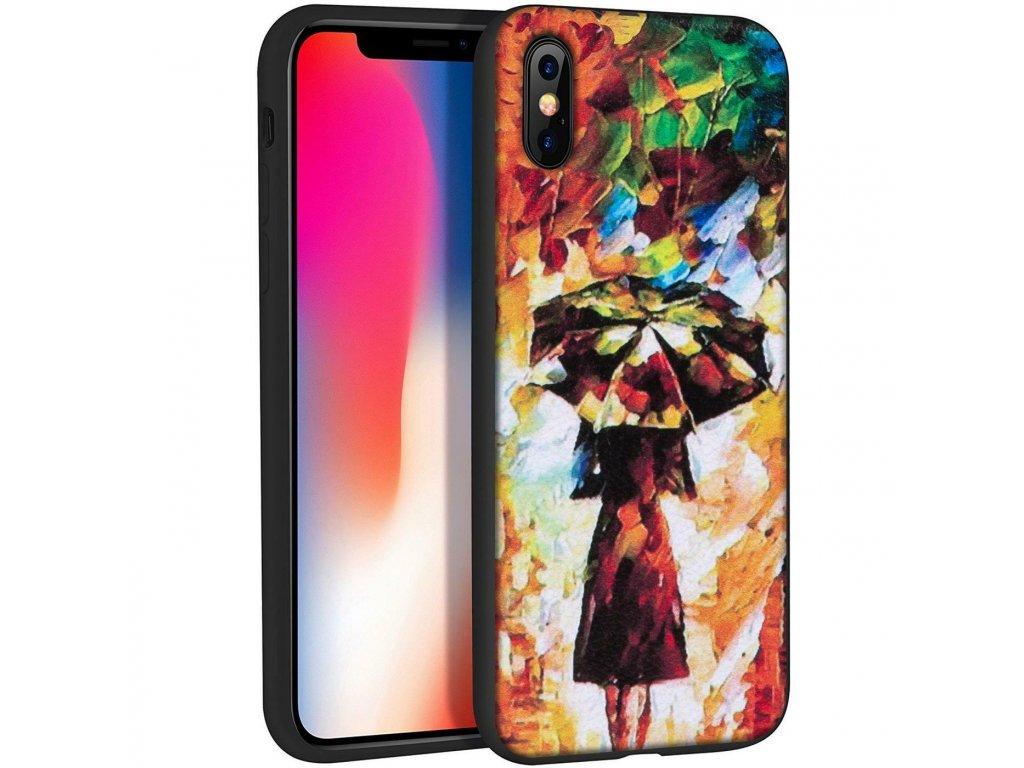 Značkový kryt na iPhone X s podzimním motivem