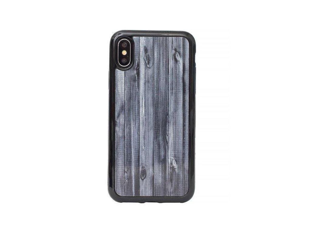 Silikonový kryt na iPhone 7 Plus/8 Plus s motivem dřeva