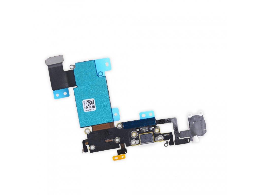 iPhone 6s plus flex nabíjecí a datový konektor lightning s audio jack konektorem, mikrofonem a GSM anténou (dock konektor)