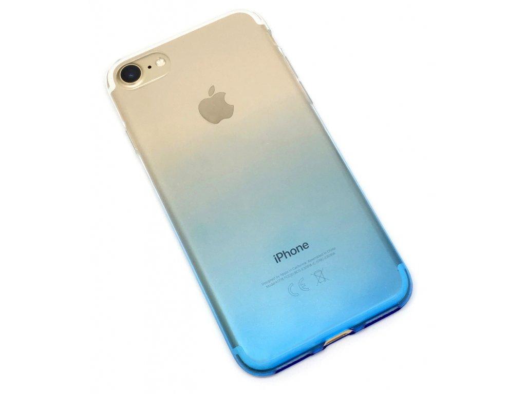 Dvoubarevný zadní kryt pro iPhone 7/8 Modrý