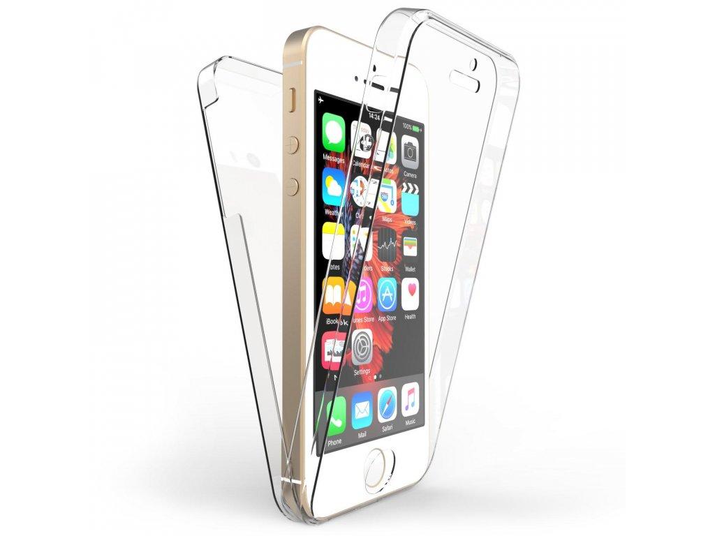 Silikonový obal na iPhone 5/5s/SE oboustranný