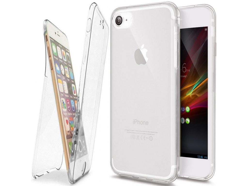 Silikonový obal na iPhone 7/8 oboustranný