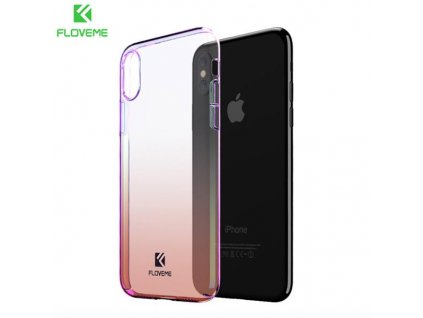 Floveme Kryt pro iPhone X (Oranžový)