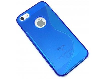 Plastový kryt na iPhone 5/5s/SE modrý