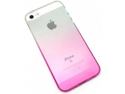 Dvoubarevný zadní kryt pro iPhone 5:5s:SE Růžový1