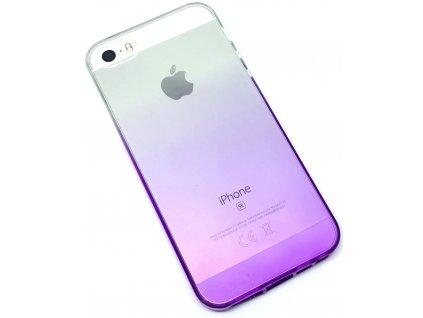 Dvoubarevný zadní kryt pro iPhone 5:5s:SE Fialový1