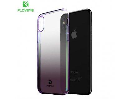 Floveme Kryt pro iPhone X (Fialový)