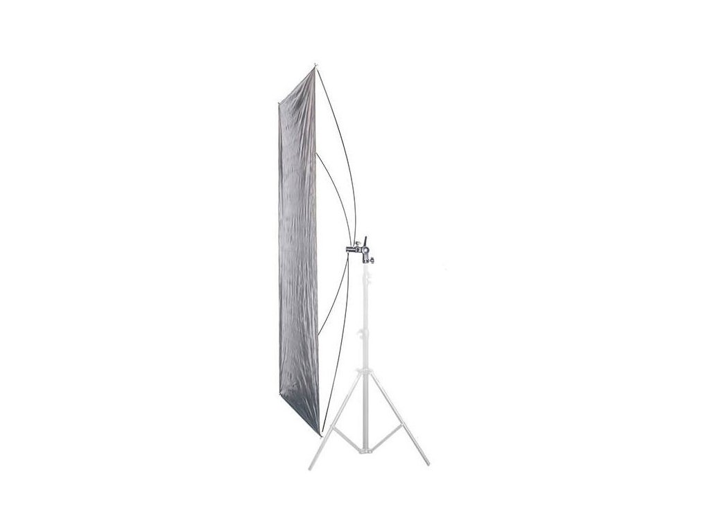 RR -odrazný panel 90X180 cm stříbrná/zlatá