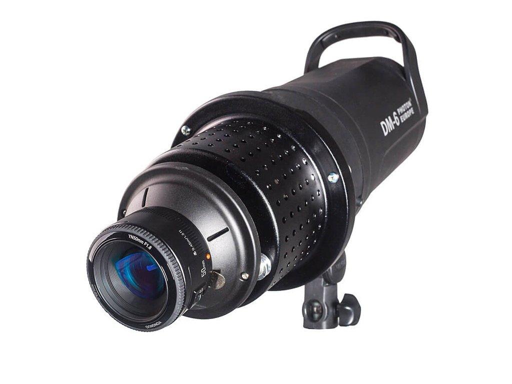 3006 2 opticky kominek pro objektiv 50mm sablony diapozitivy