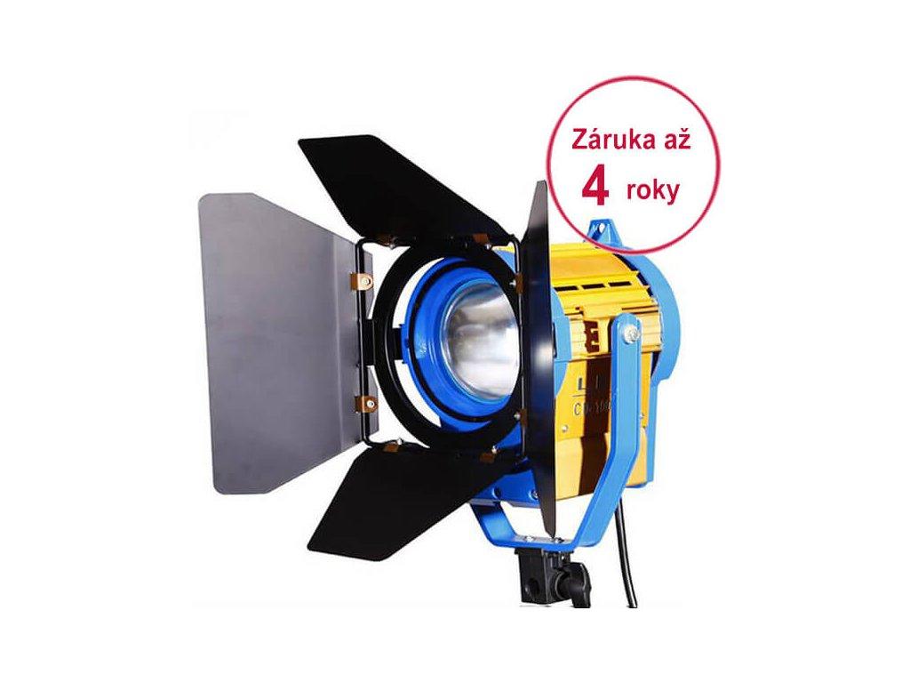 Trvalé světlo LED CD-1000ws s klapkami + fresnel + zoom (Prodloužení záruční doby Bez prodloužené záruky)