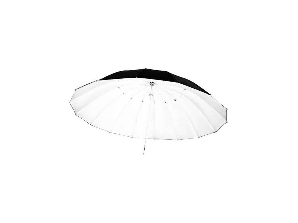 3534 big umbrella au 150 cm bila vnitrni odrazna plocha