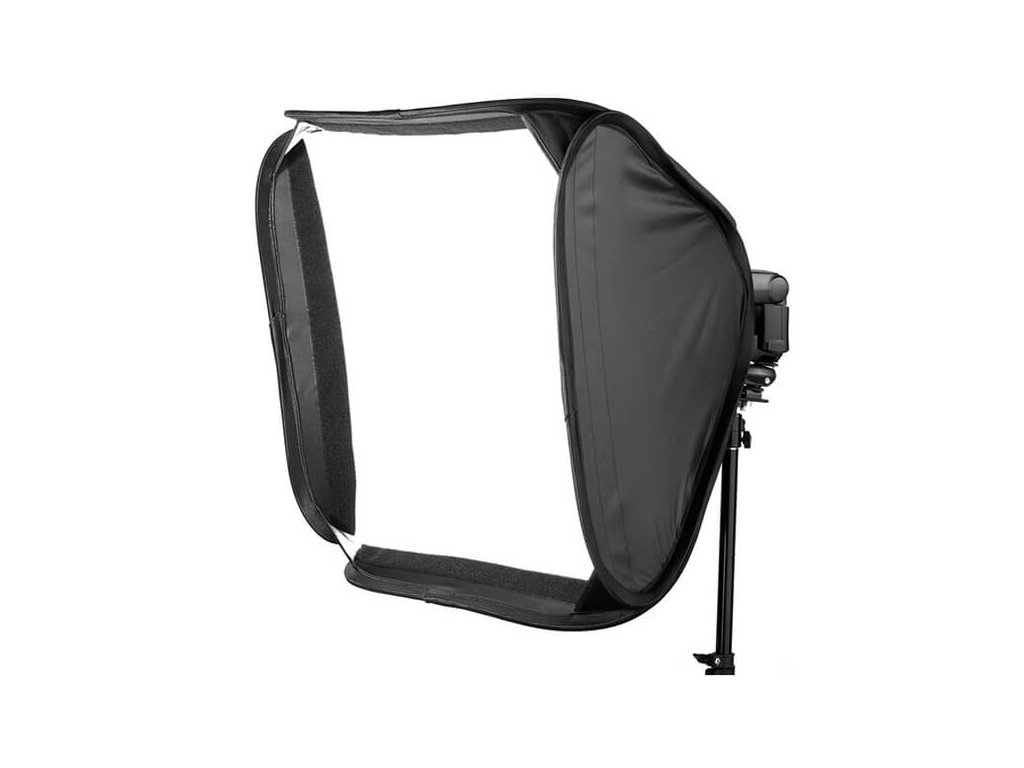 3663 set 60 x 60 magic softbox pro systemovy blesk se stativem