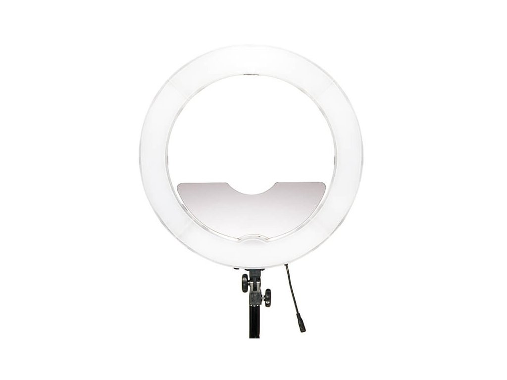 3924 led ring light se zrcatkem svitivost 4800lm