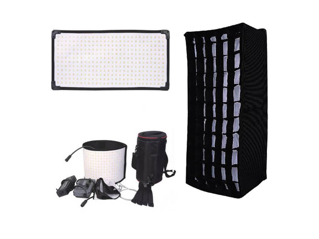 4047 flexi led mat 520x260x5mm bi color softbox