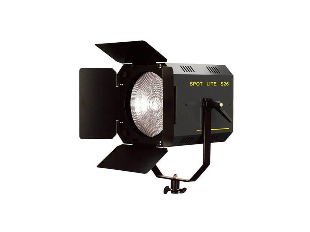 4116 s 26 fokusovatelny spot box s fresnelovou cockou a klapkami