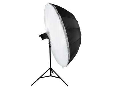3066 big umbrella au 180 cm difuzni vrstva stribrna vnitrni odrazna plocha