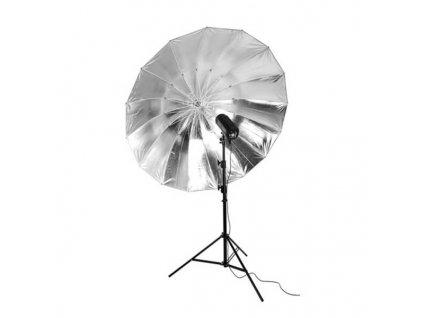 3240 big umbrella au 150 cm stribrna vnitrni odrazna plocha