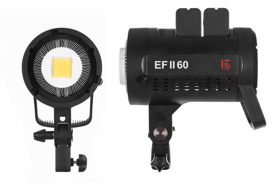 Jinbei EF 60 II – ideální LED světlo do studia i na cesty