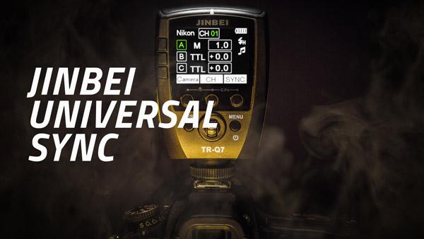 JINBEI UNIVERSAL SYNC: Jednotný systém, který propojí váš fotoaparát s blesky