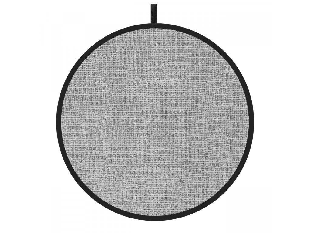 11903 odrazna deska plocha 110cm stribrna perforovana