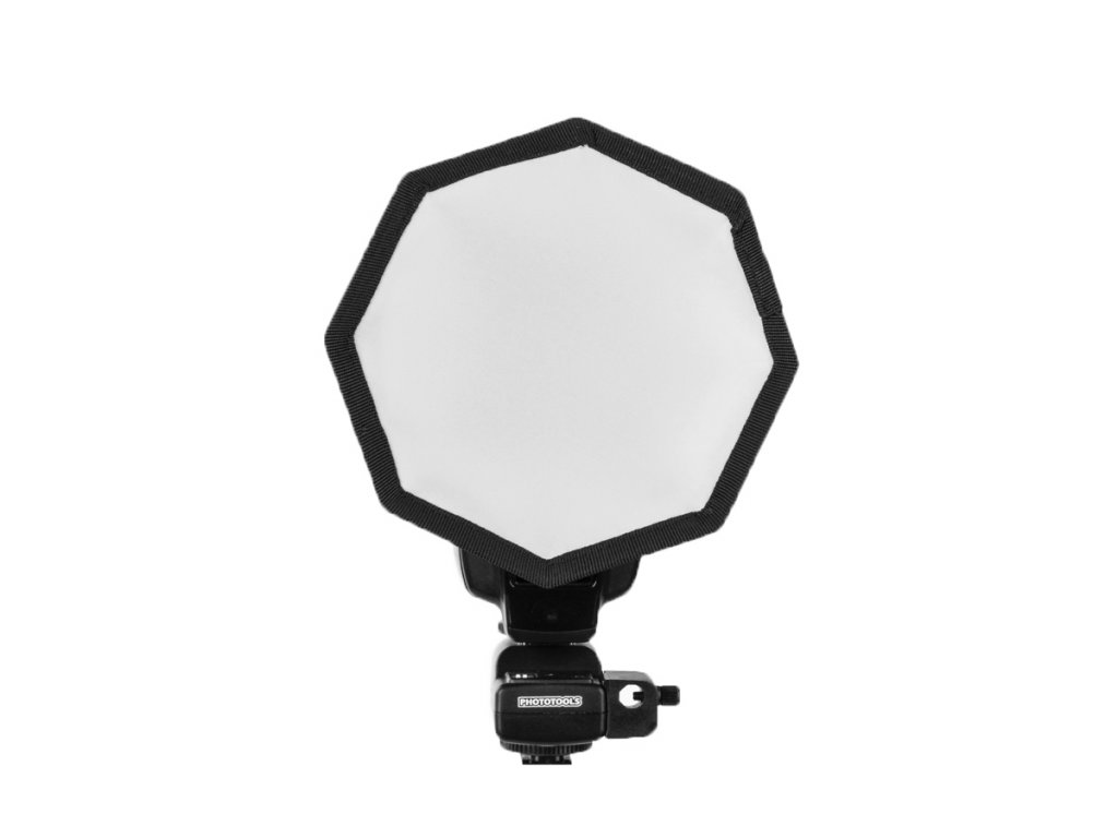 12998 softbox pro systemovy blesk octagon 15cm
