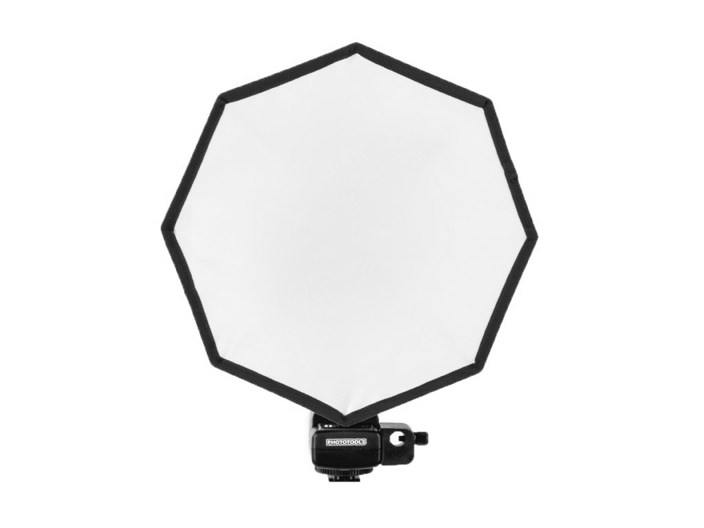 13007 softbox pro systemovy blesk octagon 30cm