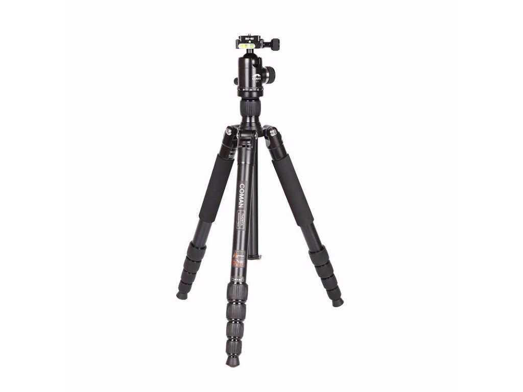 13157 fotograficky stativ tripod coman emu 1740 mm aluminium
