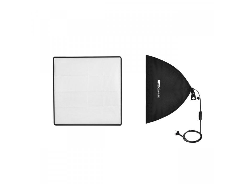13391 daylight et 50cm softbox