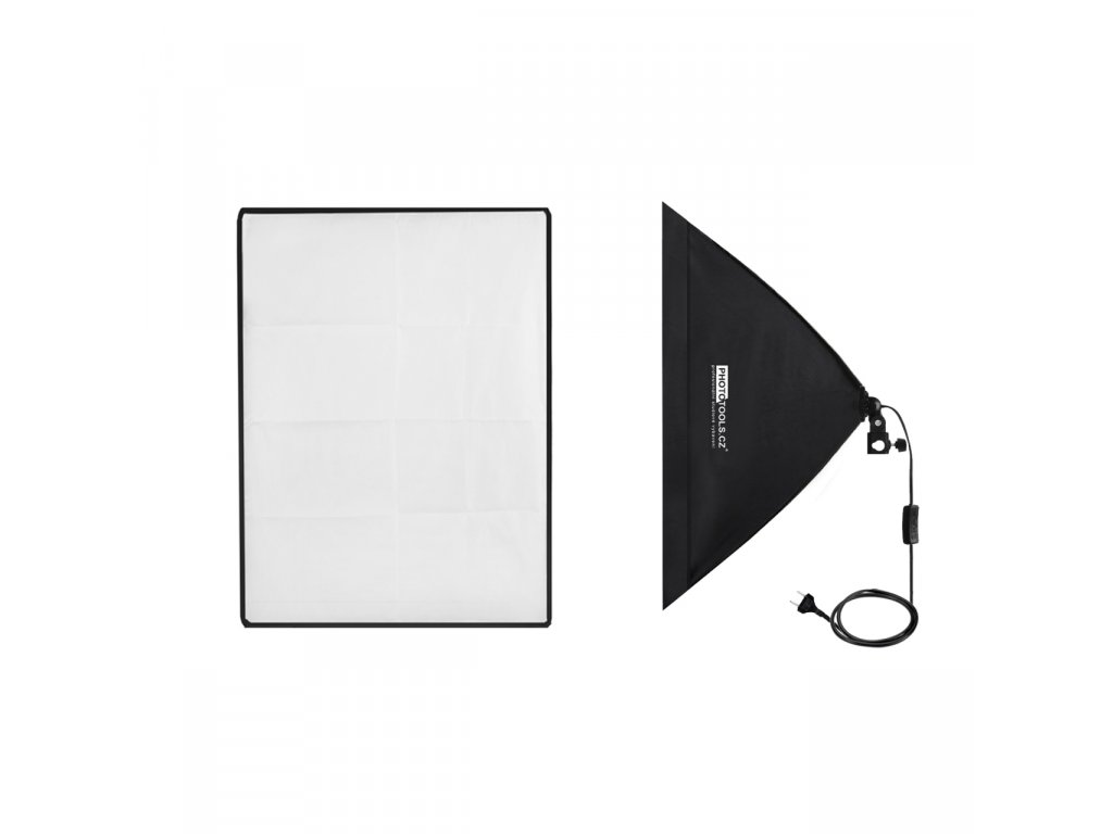 13394 daylight et 50x70cm softbox