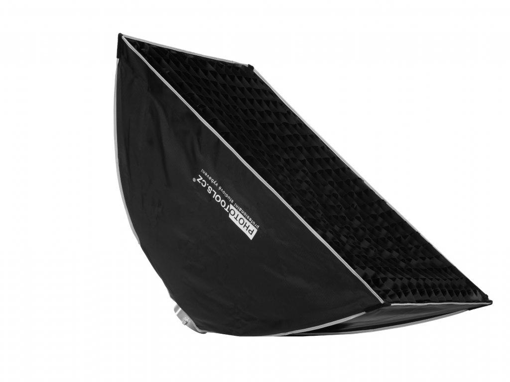 Softbox KH 60x90 cm, rychlorozkládací s voštinou, adaptér Bowens
