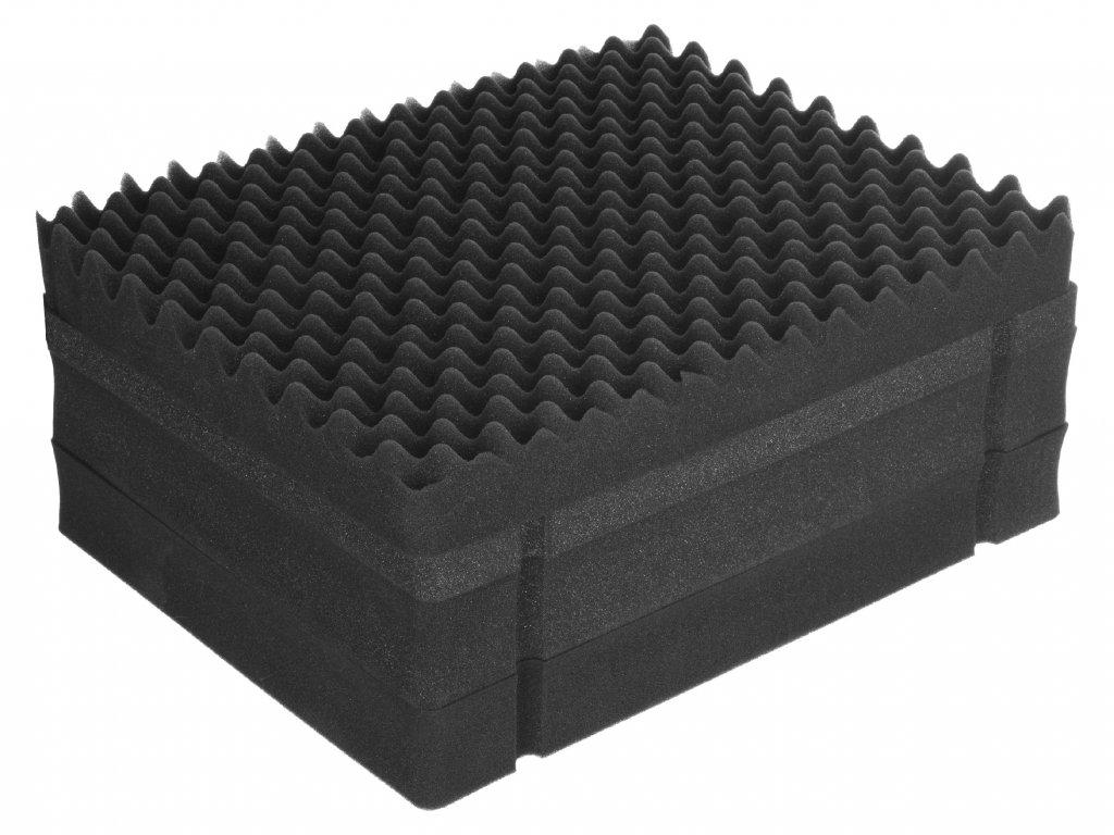 Pěnová výplň pro přepravní kufr FS04, 49x42x21 cm
