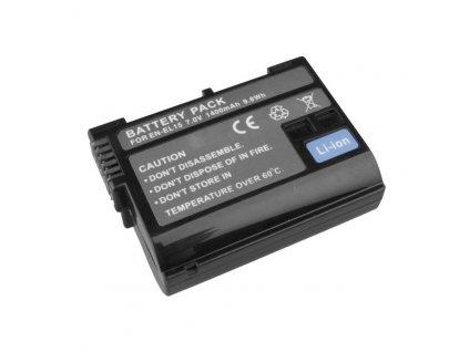 11108 nikon baterie avacom en el15 li ion 7 2v 1400mah 9 8 wh