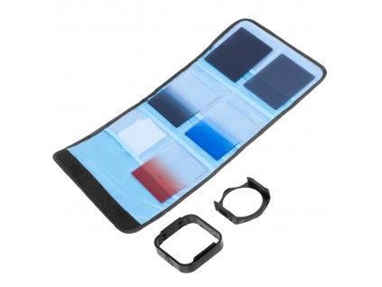 Set Cokin P 10-in-1: Cokin filtry + držák tří filtrů + přepravní obal