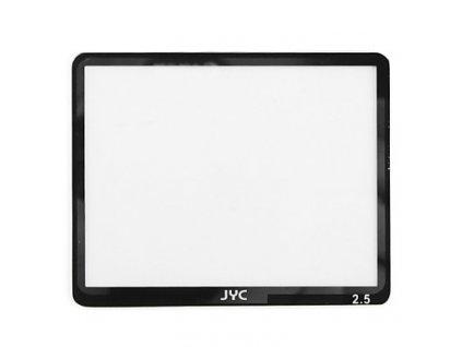 12485 jyc lcd screen protector ochrana displeje univerzalni 2 5